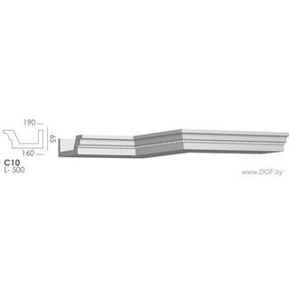 Карниз потолочный гипсовый C10