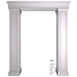 Комплект дверного портала А19
